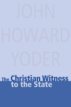 Christian Witness To The State