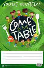 VBS 2021 Come To The Table Invitation Poster